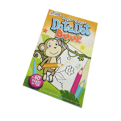 Super duper dot to dot book 80sht ( zero vat )