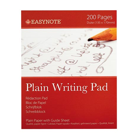 Writing pad plain 100 sht - 3255 (13.5 x 17cm)