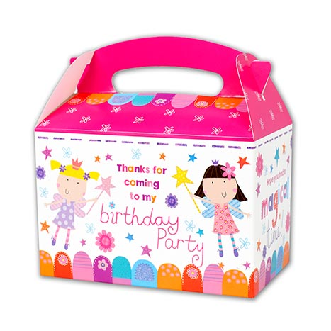 Party boxes 6pk girl - pb1006p