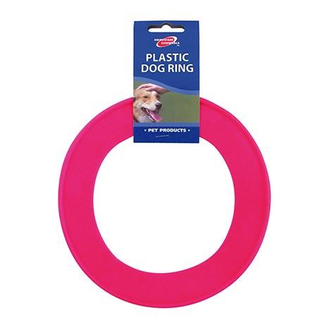 Plastic dog ring