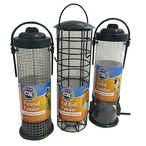 Bird feeders - (3 asstd x 4)