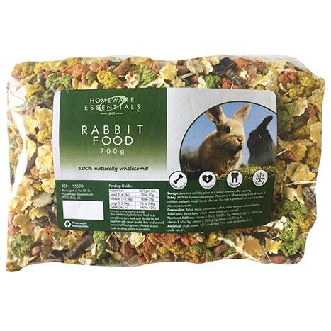 Rabbit food 700g (non vat)
