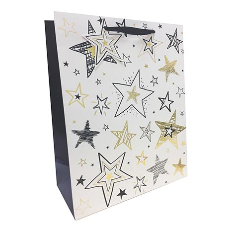 Gift bag medium 8122m (foil) female (21cm x 26cm)