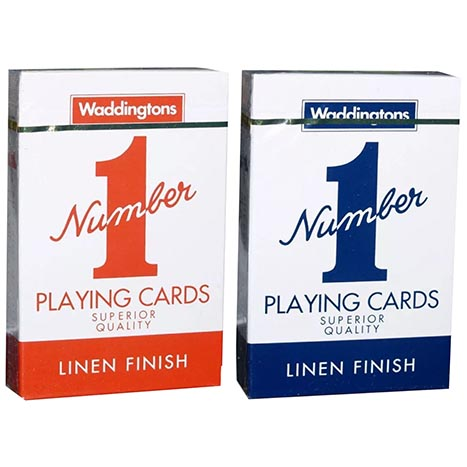 Waddingtons no. 1 playing cards