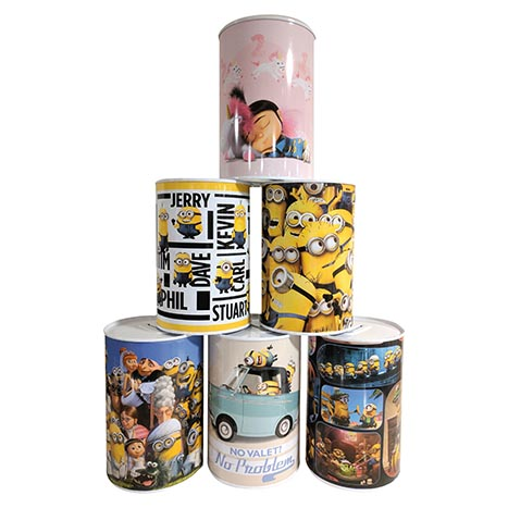 Money tins - despicable me - des001
