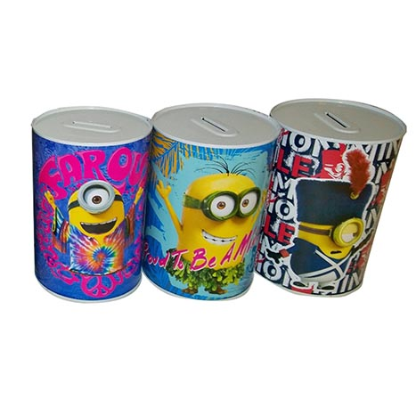 Money tin minions 145mm x 110mm - min001