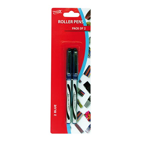 (red label) roller pens 2pk