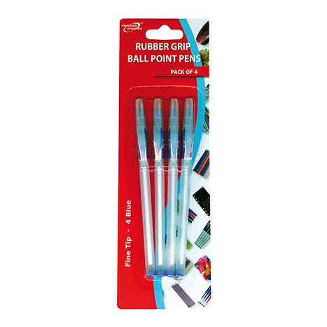 (red label) ball point pens 4pk