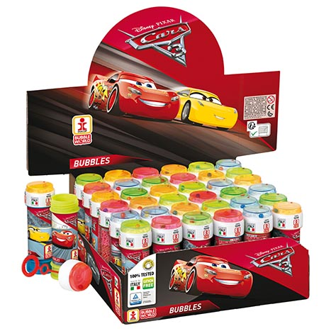 Cars 3  bubbles 60ml (in display)