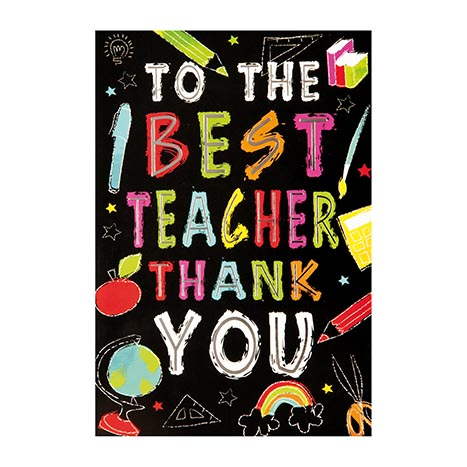 Thank-you teacher cards - code 50
