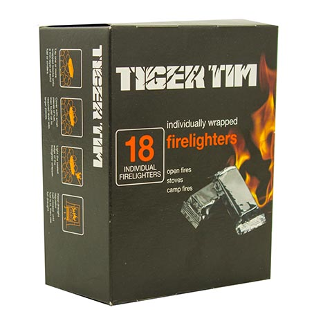 Firelighters - tiger tim 18's