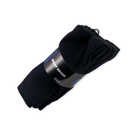 Sport socks 5pk - black