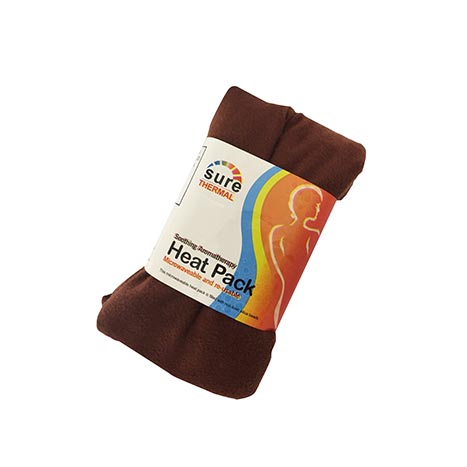 Heat pack 700g brown fleece - th19960
