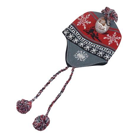 Knit peruvian hat (seven apparel) - asstd cols