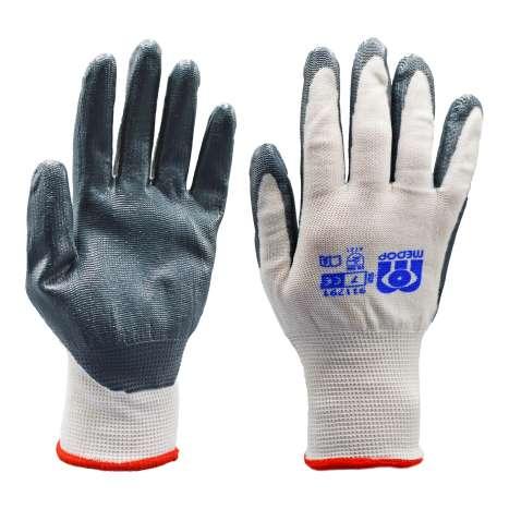 Grey Work Gloves - Size 7