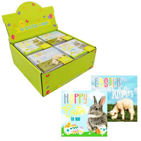 Boxed Photo Easter Cards 10 Pack
