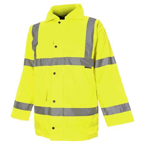 Vizwear Hi-Viz jacket - Yellow parka - 2XL