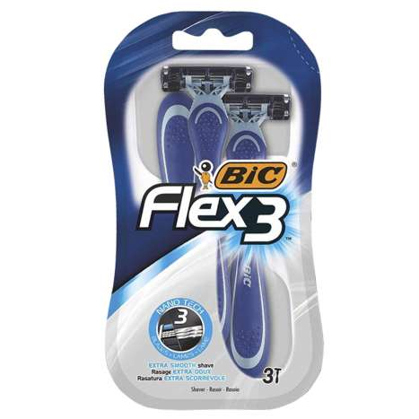 BIC Flex 3 Razors 3 Pack