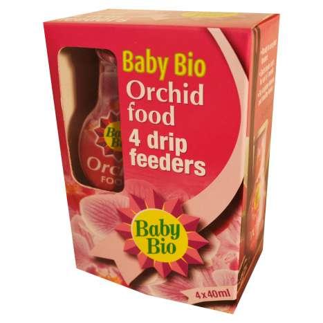 Baby Bio - Orchid Food drip feeders 4x40ml