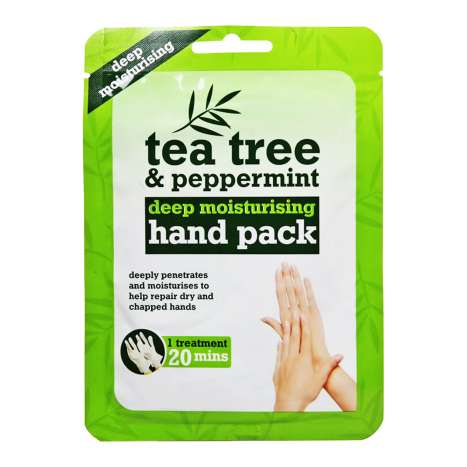 Tea Tree & Peppermint Deep Moisturising Hand Pack - Clip Strip Provided