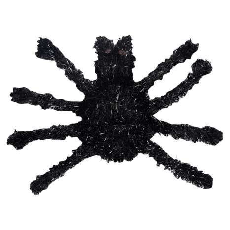 Tinsel Spider Wall Decoration