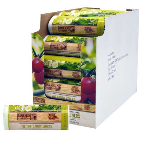 Compostable Caddy Liners 10L - 24pk