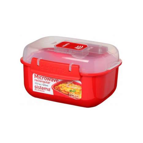 Sistema Small Rectangular Food Container 525ml
