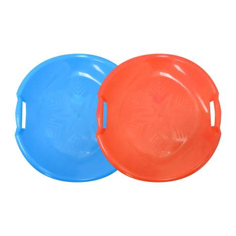 Round Saucer Sledges - Assorted Colours