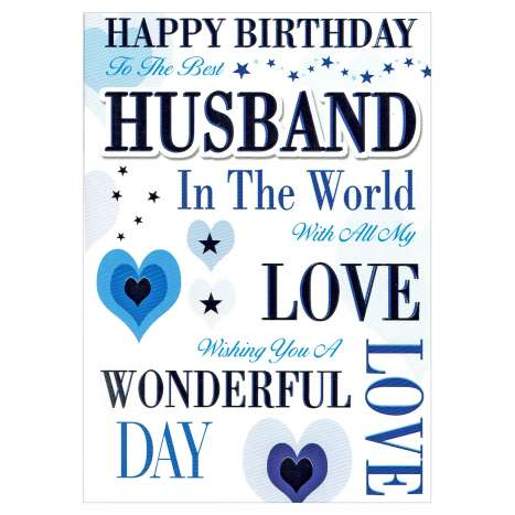 Everyday Greeting Cards Code 50 - Husband
