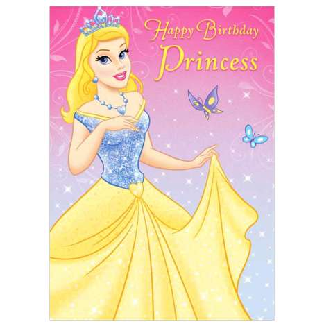Garlanna Greeting Cards Code 50 - Birthday Princess