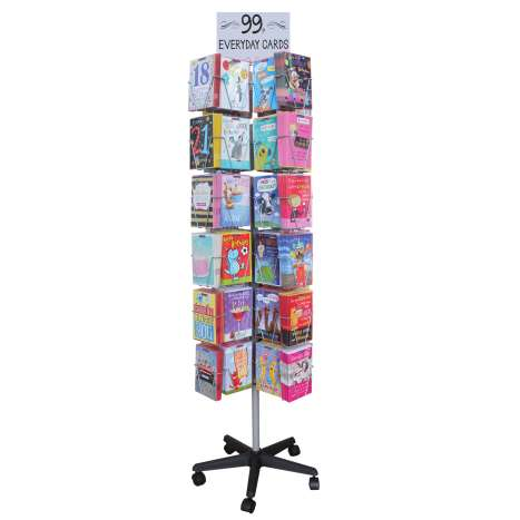 Greeting Cards Spinner Stand (Fully Stocked)