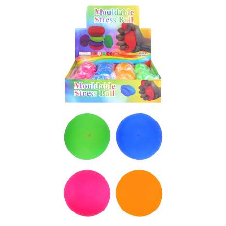 Mouldable Stress Ball - Assorted Colours