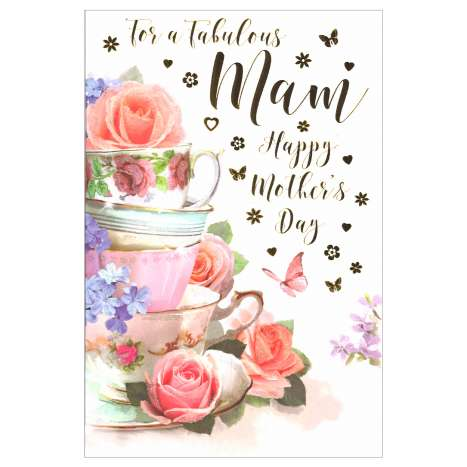 Mother's Day Cards Code 75 - Mam