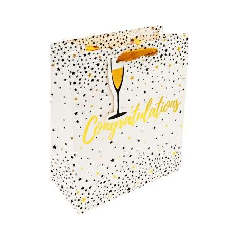 Medium Gift Bags - Congratulations