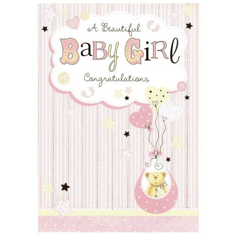 Everyday cards code 75 - Birth Girl