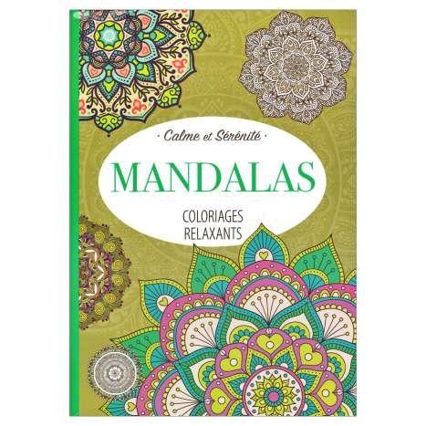 Mandalas Colouring Book 64 Pages