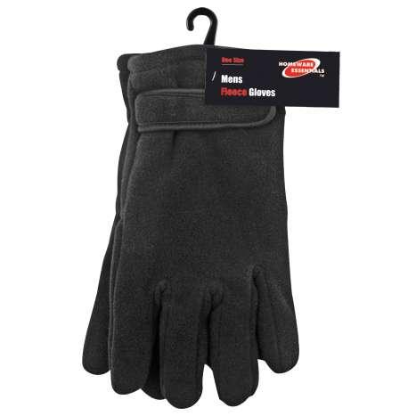 Homeware Essentials Men's Fleece Gloves