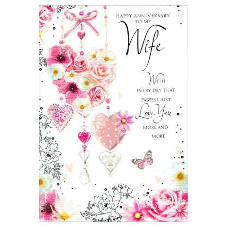 Everyday Greeting Cards Code 50 - Wife Anniversary
