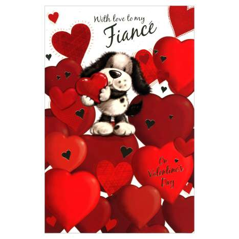 Valentines Day Cards Code 75 - Fiance