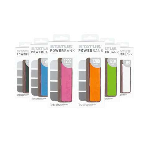 Status Powerbank 1200mAh