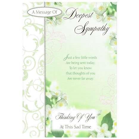 Everyday cards code 75 - Sympathy