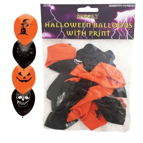Halloween Balloons 15 Pack