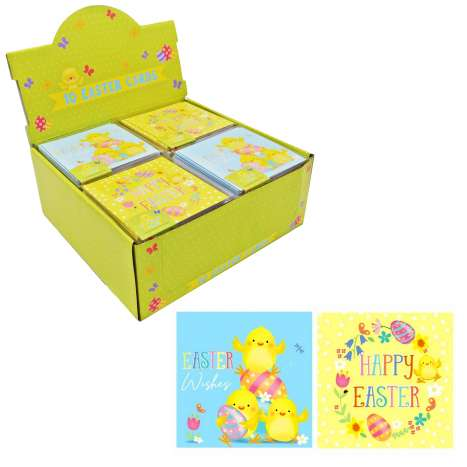 Boxed Cute Easter Cards 10 Pack