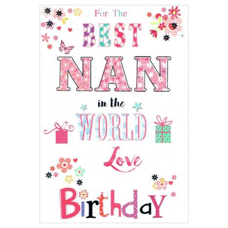 Everyday Greeting Cards Code 50 - Nan