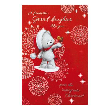 Christmas Cards Code 75 - Granddaughter