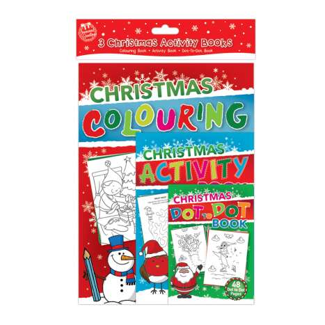 Christmas multi activity set 3PK