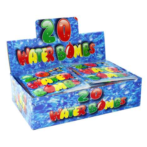Water Bombs 20 Pack