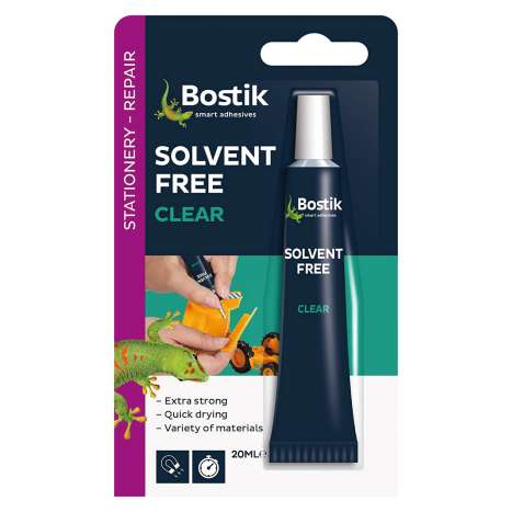 Solvent free all purp adhesive bostik - IN DISPLAY BOX