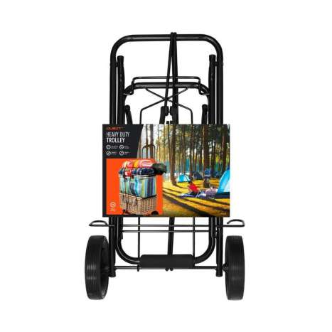 Heavy duty camping and festival trolley