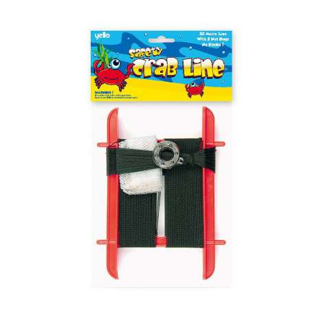 Safety Crab Line 30m - Assorted Colours